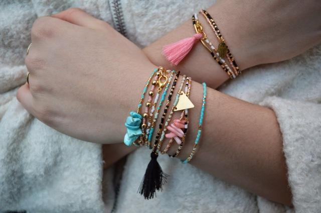 DIY Bracelets fin en perles Miyuki - The Camelia